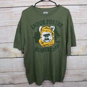 Star Wars Endor Forest Summer Camp 2XL